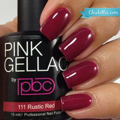 Coral Red is a beautiful coral-leaning red gel polish with a cream finish (just as the name suggests! Pink Gellac is the top-selling European gel French Manicure Acrylic Nails, Pink Gel Nails, Gel Nail Polish Colors, Gel Polish Brands, Shellac, Nagel Gel, Professional Nails, Red Lipsticks, Beauty Nails