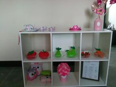 Mi tiendita / felt fruits / tea table