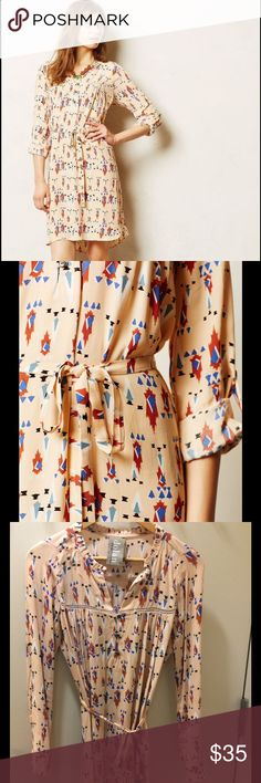 Selling this Anthropologie Dolan Wanderlust shirt dress neutral in my Poshmark closet! My username is: lketcham. #shopmycloset #poshmark #fashion #shopping #style #forsale #Dolan #Dresses & Skirts