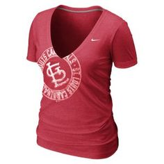 Nike Deep V (MLB Cardinals) Women's T-Shirt
