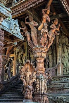 Temple of Truth, Thailand.