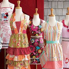Aprons, aprons and aprons .... oh my!