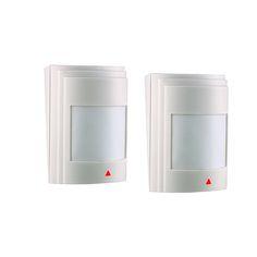 2pcs/lot Wired PIR Motion Sensor Detector For GSM PSTN Home Security Alarm System