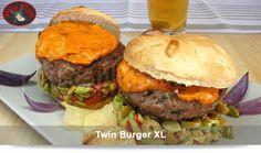 @platosplisplas | Twin Burger XL