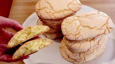 Biscuit Donuts, Biscuit Cookies, Biscuit Recipe, Yummy Cookies, Sugar Cookies, 3 Ingredient Cookies, 3 Ingredient Recipes, Sweets Recipes, Cookie Recipes
