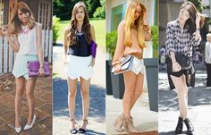 How to wear skorts