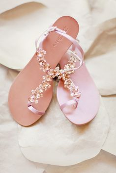 Pretty Bridal Sandals - Perfect for a Summer Wedding