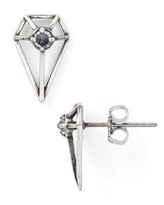 Rebecca Minkoff Boho Blade Stud Earrings