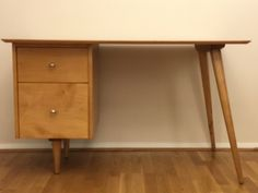 Refinished Desk, Paul Mccobb, Atomic Age, International Style, Mid Century Furniture, Wood Construction, Joinery, Contemporary
