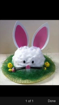 Idea for Evie's Easter Bonnet #easterbonnet2015