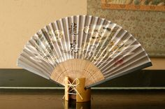 Authentic Japanese Hand Fan - Silk Model: Ryuko ! $12.00USD  The method of making folded hand fans dates back centuries. They first appeard during the 8th century in Japan, and later spread throughout Europe and the rest of Asia. Formerly known as indications of social status, they're now available and loved by people of all backgrounds.