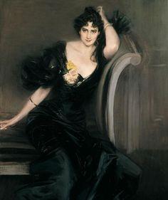 Giovanni Boldini, Lady Colin Campbell, 1897.