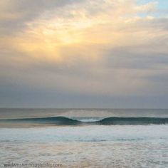 Dawn at 3 Bears surf break -Kabbijgup Beach, Western Australia