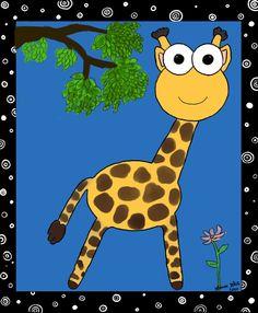 a random giraffe