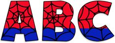 Spiderman Theme Party, Spiderman Pasta, Banner Letters, Comic Book Style, Cool Lettering, Super Dad, Man Birthday, Party Signs, Diy Gifts