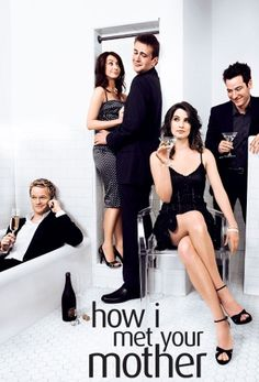 """How I Met Your Mother CBS. Starring Josh Radnor, Neil Patrick Harris, Jason Segel, Alyson Hannigan, and Cobie Smulders."" Beautiful people are beautiful. Ted Mosby, Best Tv Shows, Best Shows Ever, Favorite Tv Shows, Movies And Tv Shows, Favorite Things, How I Met Your Mother, Dawson Crece, Series Gratis"