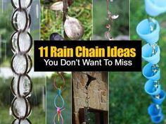 Rain Chains Ideas - Craft Gossip