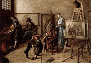 """New artwork for sale! - """" Molenaer Jan Miense Painter In His Studio Painting A Musical Company by Jan Miense Molenaer """" - http://ift.tt/2pMkzp5"""