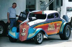 "33 willys gassers | The Prock & Howell ""F Troop"" 33 Willys ~"