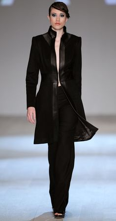 From Sunny Fong's LHASA ROW collection for his line, Vawk, fall/winter 2011, from vawk.ca