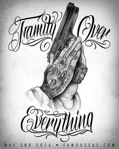 Image showing money for Tattoo Flash Designs diy tattoo - Gangster Tattoos, Chicano Tattoos Gangsters, Tattoo Flash, Trendy Tattoos, Small Tattoos, Best Male Tattoos, Temporary Tattoos, La Familia Tattoo, Tattoo Ideas