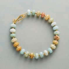 Shop Gemstone Bracelets at Sundance. You'll love the saturated hues and elegant designs in our gemstone bracelets. Handmade Jewelry Bracelets, Gemstone Bracelets, Ankle Bracelets, Jewelry Crafts, Gemstone Jewelry, Beaded Jewelry, Fine Jewelry, Gold Jewellery, Bracelet Making