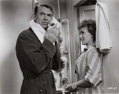 Cary Grant and Joan OBrien in Operation Petticoat (1959)
