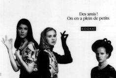 Kookaï 1989 - Des amis ? On en a plein de petits
