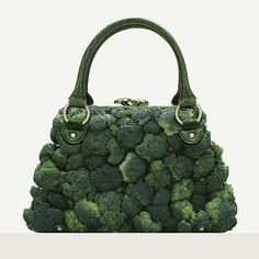 broccoli bag.  photographer Fulvio Bonavia. Trying to be healthier for the new year.