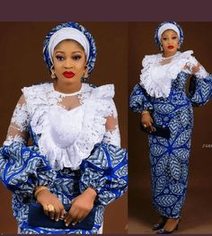 140 Most Latest Ankara and Lace Combination Styles For Classy African Ladies