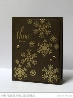 Hand Lettered Holiday, Snowflake Flurry, Blueprints 24 Die-namics