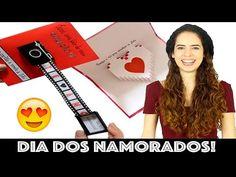 DIY: CARTÃO CRIATIVO PRO DIA DOS NAMORADOS | Paula Stephânia - YouTube