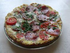 Czary w kuchni- prosto, smacznie, spektakularnie.: Śniadaniowy omlet Quiche, Tasty, Breakfast, Healthy, Food, Meal, Eten, Quiches, Meals