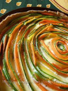tarte légume spirale 2