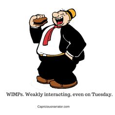 """May is Wimpy's favorite month of the year. Everyone knows Popeye's pal is a hamburger moocher par excellence. He doesn't need to consult the calendar to utter his famous phrase: """"I'll gladly pay you Tuesday for a hamburger today! Comics Und Cartoons, Old School Cartoons, Looney Tunes Cartoons, Cool Cartoons, Popeye Cartoon, Cartoon Tv, Cartoon Shows, Classic Cartoon Characters, Favorite Cartoon Character"""