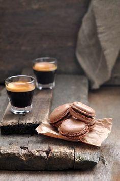 Espresso and coffee macarons – yum! Espresso and coffee macarons – yum! Coffee Break, I Love Coffee, Black Coffee, Sexy Coffee, Coffee To Go, Coffee Girl, Hot Coffee, Macarons, Coffee Macaroons