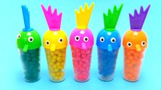 Play-Doh Dippin Dots Surprise Toy Rooster Ice Cream Bottles