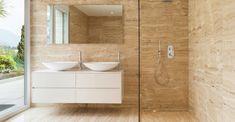 baño travertino - Buscar con Google
