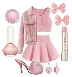 """Preforming With Melanie"" by adventuretimekitty ❤ liked on Polyvore featuring Louis Vuitton, By Terry, MAC Cosmetics, Paul & Joe, Pink and melaniemartinez"