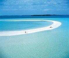La plage de Musha Cay - Bahamas