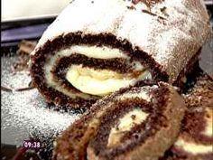 Rocambole de Chocolate Prático - Foto de Mais Você na TV