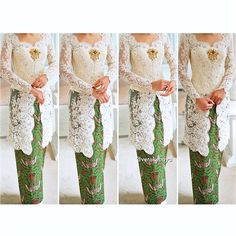 Vera kebaya Vera Kebaya, Kebaya Lace, Kebaya Hijab, Kebaya Brokat, Kebaya Dress, Batik Kebaya, Kebaya Muslim, Javanese Wedding, Indonesian Wedding