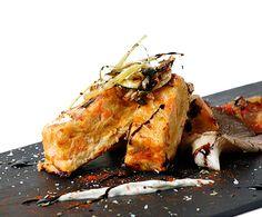CookinArt Pastel de Salmón y Puerro con su verduritas.