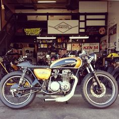 Honda CB500 Moto Chop Shop - repined by http://www.motorcyclehouse.com/ #MotorcycleHouse