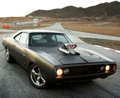 Do you recognise this car? Hit the image to watch which amazing car movie this is featured in. # #spon #DodgeCharger