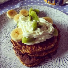 Tè verde e pasticcini: { AmericanRecipes } - Pancakes: 3 ingredients banana protein pancakes