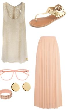 Maxi skirt. PERFECT for the summer.