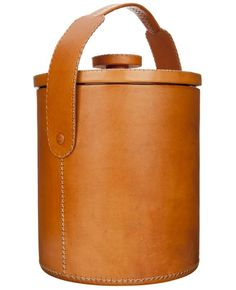 Outdoor Round Leather Cooler - L'Eclaireur Shop