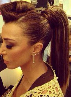 #updo #oribe #hairbyadam #beauty #hair #hairoftheday