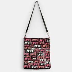Lots of Love Handbag, Live Heroes New Trends, Your Design, Shoulder Bag, Make It Yourself, Love, Amor, New Fashion, Shoulder Bags